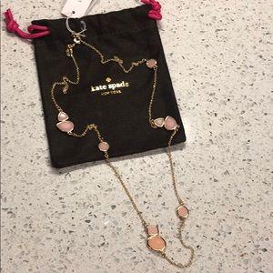 Kate Spade blush color pop necklace